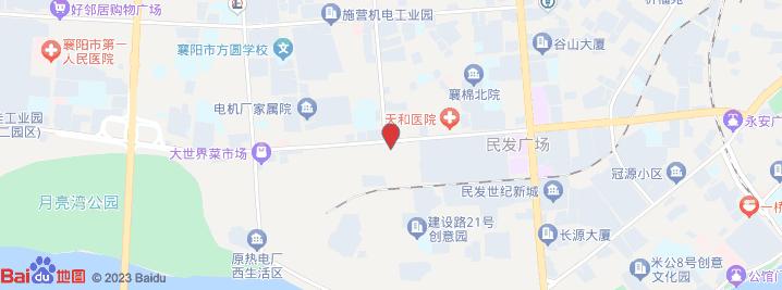 襄阳星火东路地图