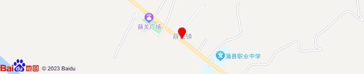 蒲县薛关镇志强综合门市部电子地图