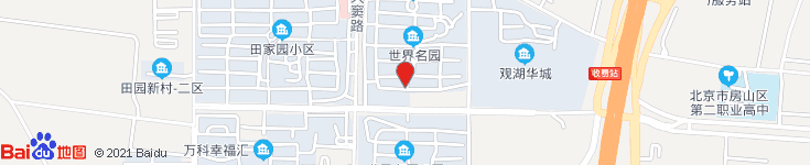 北京市窦店水泥构件厂电子地图