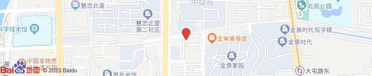 北京飞天影视投资有限公司电子地图