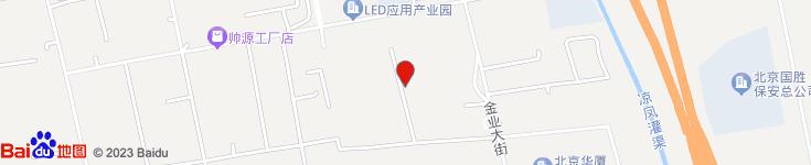 北京西红轩食品有限责任公司电子地图