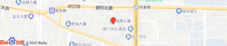 北京东方宏济科贸有限公司电子地图