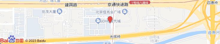 北京沃德财富资本运营中心(有限合伙)电子地图