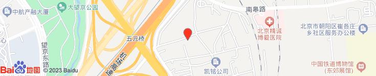 北京祥云鼎盛商贸有限公司电子地图