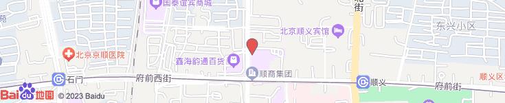 中国联通有限公司北京分公司顺义营业部电子地图