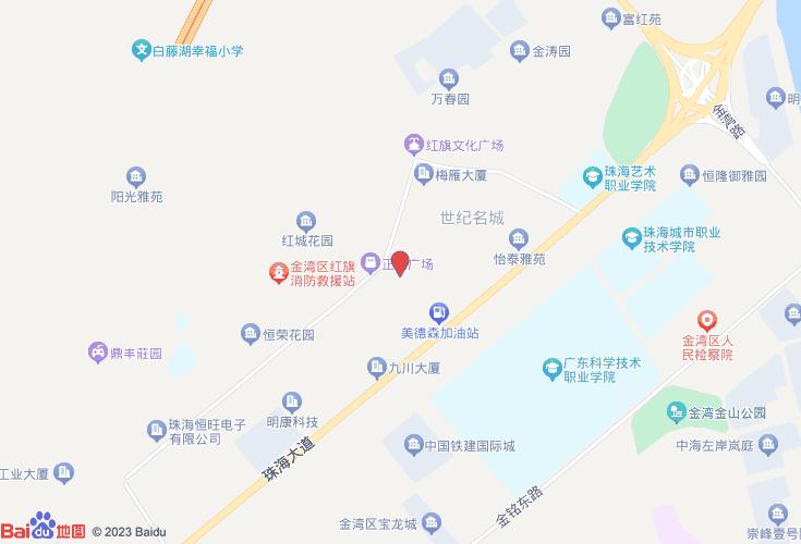 珠海金湾区红旗镇地图_珠海市金湾区红旗镇车站时刻表