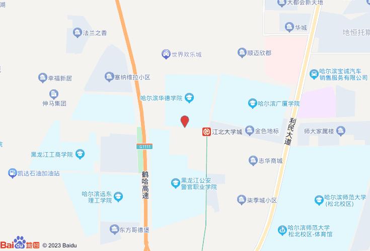 哈尔滨呼兰区江北学院路5号图纸外国0.3×45max图片