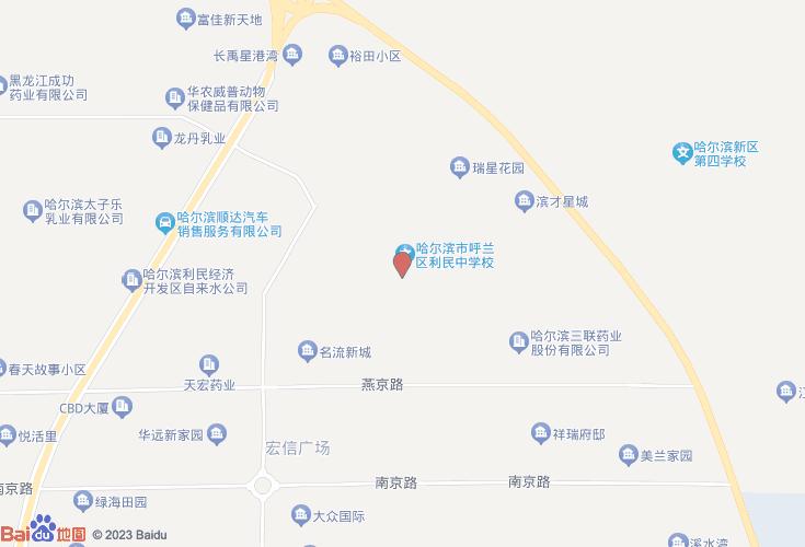 哈尔滨呼兰区利民中学图纸别墅v中学私人农村图片