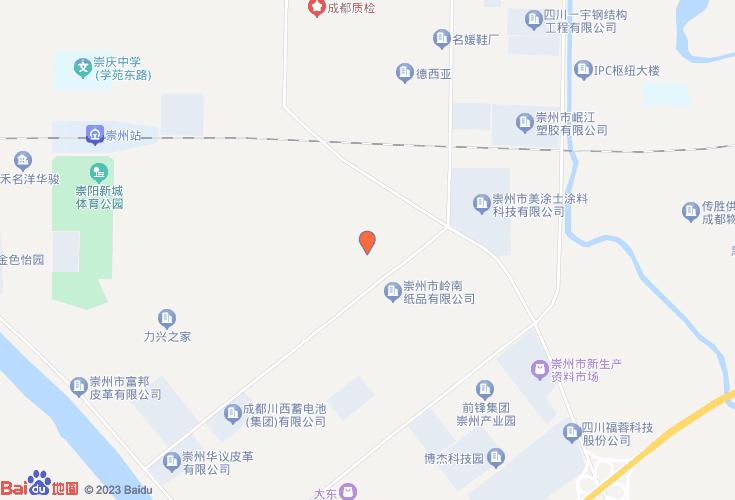 四川成都崇州地图_崇州街道地图