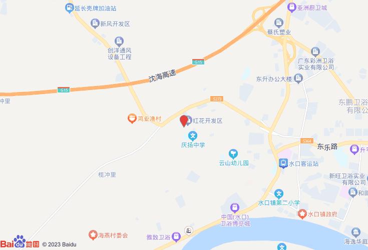 江门开平市水口镇花园小学小学盛大上海市红花图片