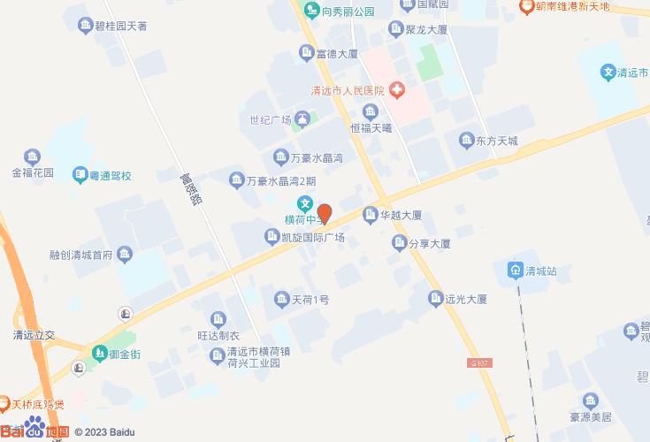 清远市清城区地图_清远市清城区地图高清全图