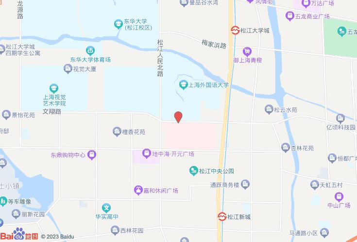 上海松江地图_松江区详细地图