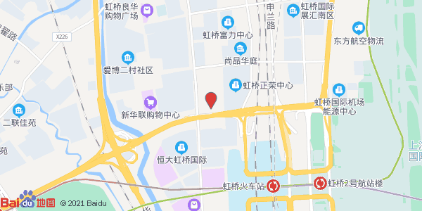 距2号线虹桥火车站站步行5分钟