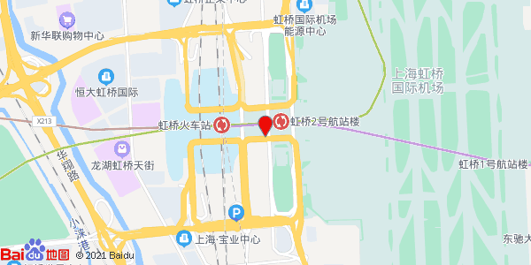 距虹桥国际机场