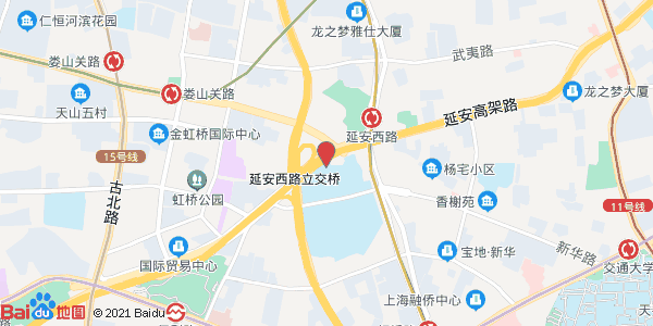 距虹桥火车站车行27公里