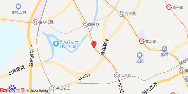 距2号线江苏路站步行