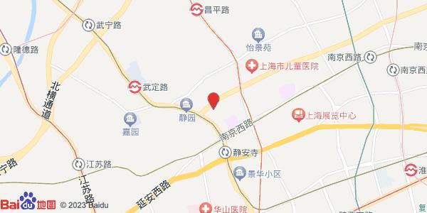 上海市静安区地图