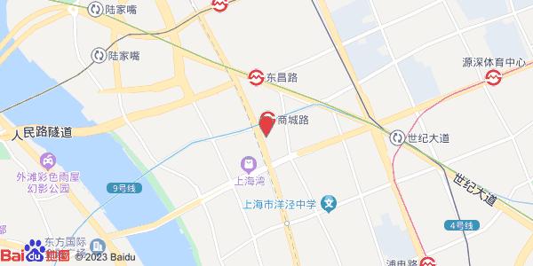 陆家嘴大楼地图