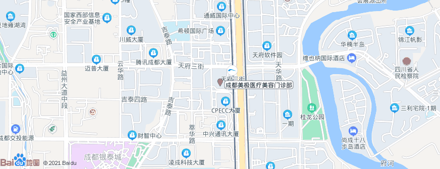 成都美极医疗美容门诊部地址地图导航