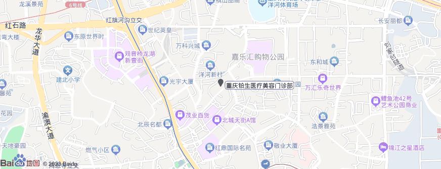重庆铂生医疗美容门诊部地址地图导航