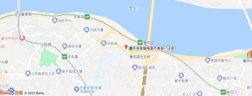 重庆徐铎丽格医疗美容门诊部地址地图导航