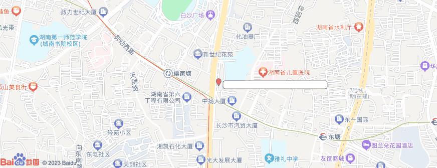 长沙牙大夫口腔门诊部(侯家塘总院)地址地图导航