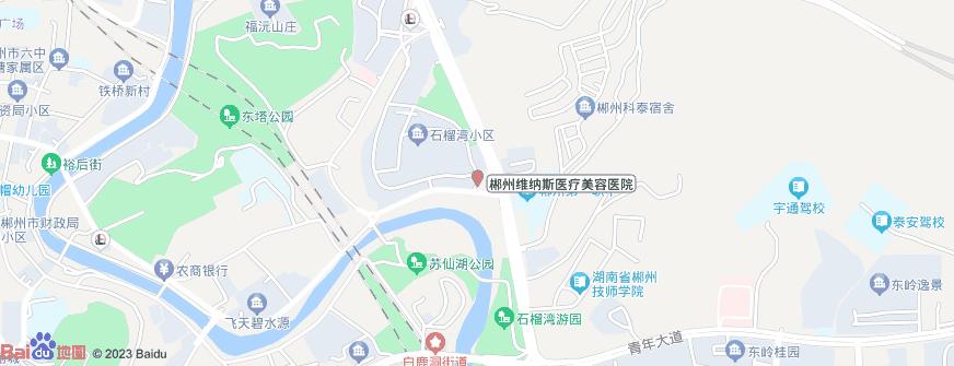 郴州维纳斯医疗美容医院地址地图导航
