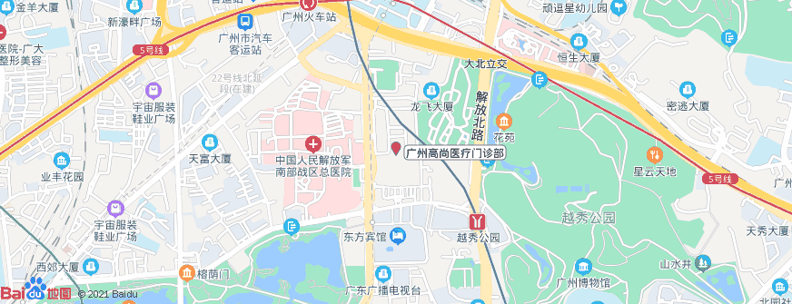 广州高尚医疗门诊部地址地图导航