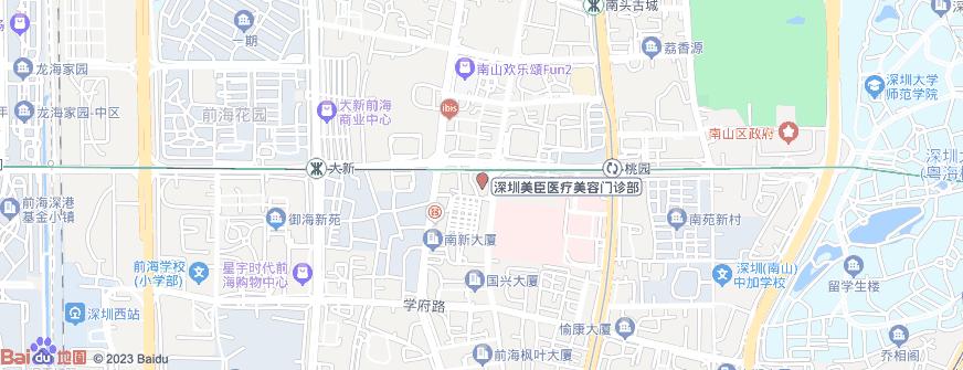 深圳美臣医疗美容门诊部地址地图导航