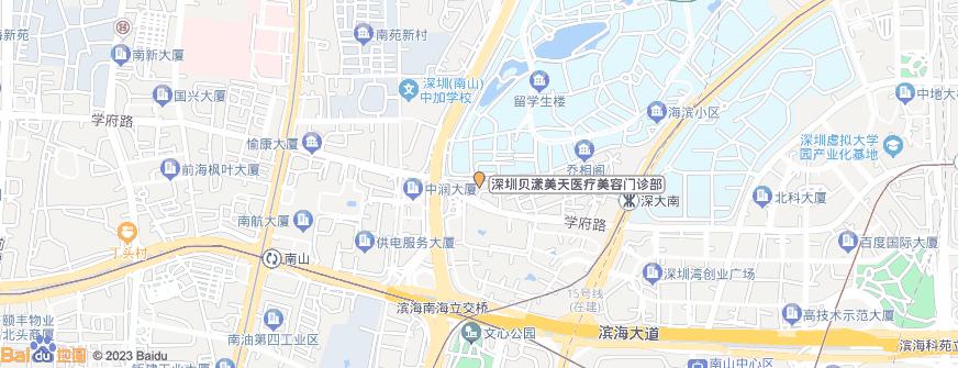 深圳贝漾美天医疗美容门诊部地址地图导航