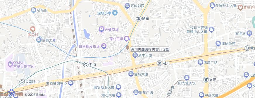 深圳美颜医疗美容门诊部地址地图导航