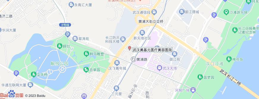 武汉美基元医疗美容医院地址地图导航