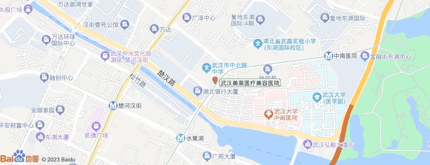 武汉美莱医疗美容医院地址地图导航