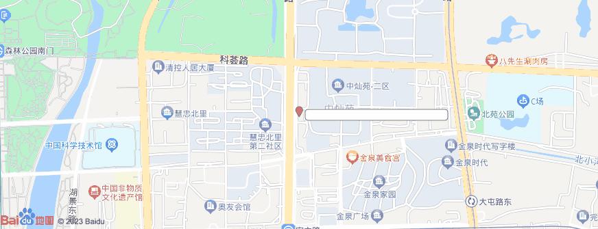 北京八大处整形医疗美容医院(北院)地址地图导航