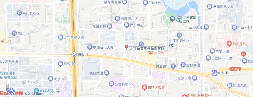 北京美莱医疗美容医院地址地图导航