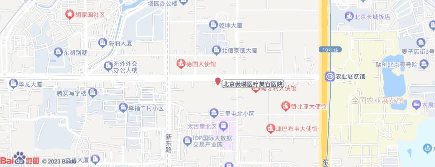 北京薇琳医疗美容医院地址地图导航