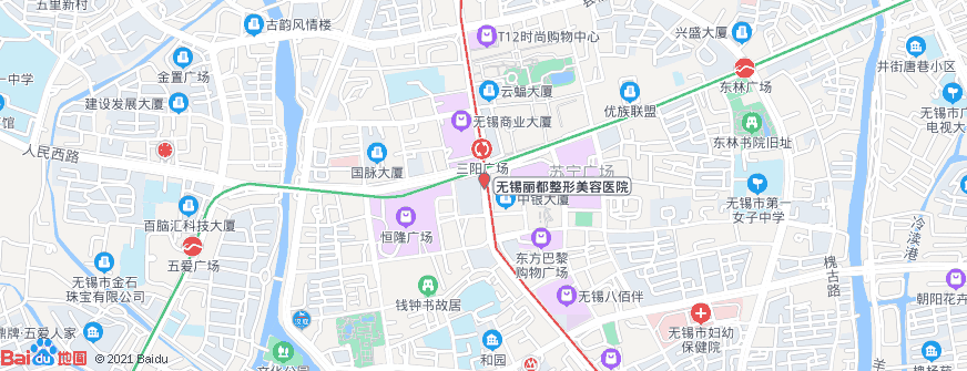 无锡丽都整形美容医院地址地图导航