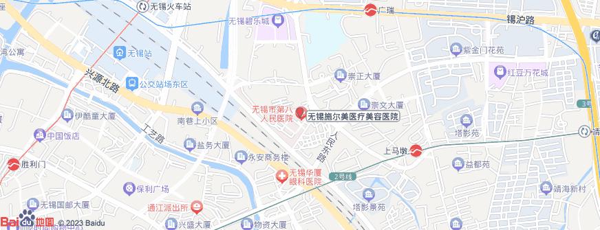无锡施尔美医疗美容医院地址地图导航