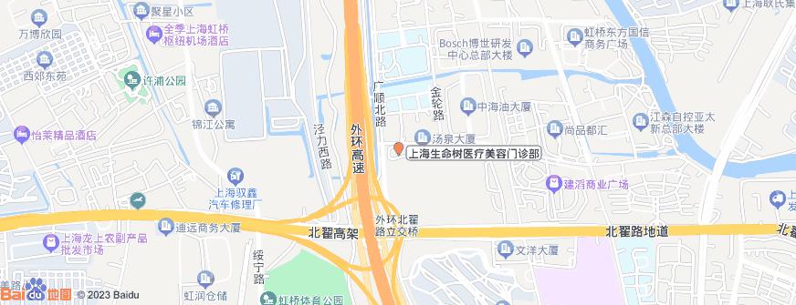 上海生命树医疗美容门诊部地址地图导航