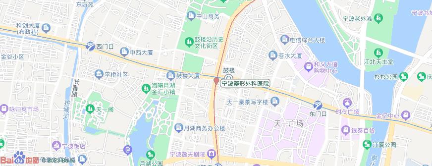 宁波整形外科医院地址地图导航
