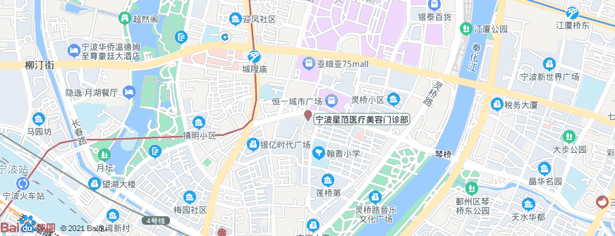 宁波星范医疗美容门诊部地址地图导航