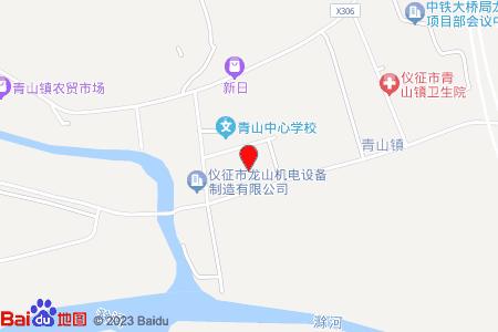 沿江小区地图信息