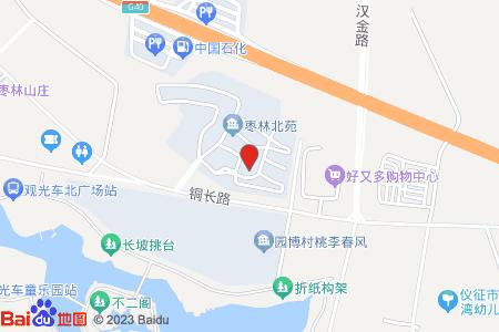 枣林北苑地图信息