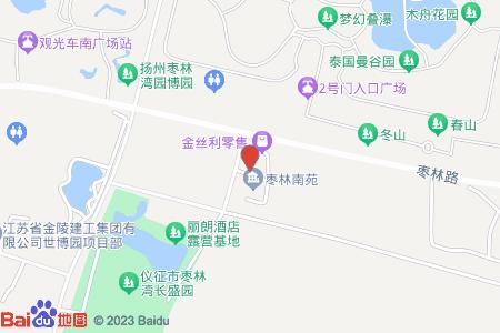 枣林南苑地图信息
