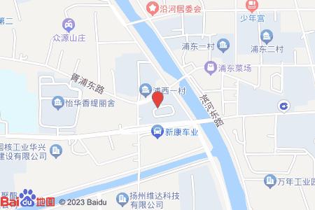 浦西一村地图信息