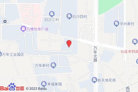 迎江三村地图信息