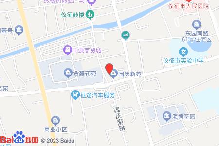 國慶新苑地圖信息