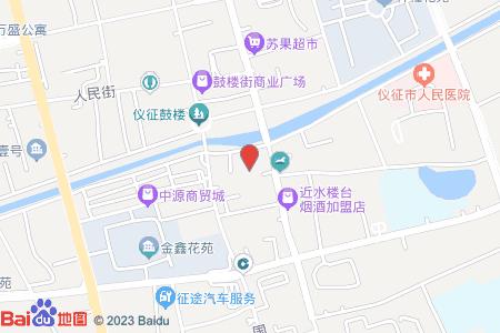 鼓樓開元小區地圖信息