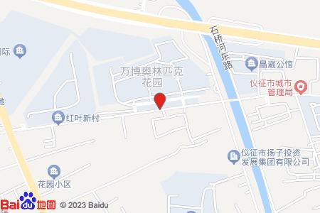 万博奥林匹克花园地图信息
