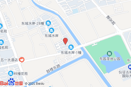 东城水岸地图信息